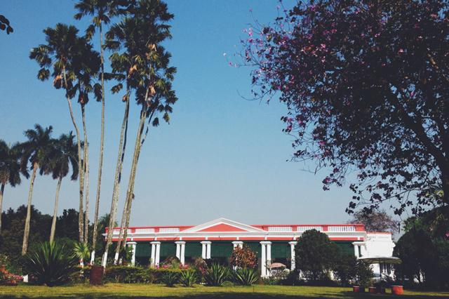 A beautiful day at Maheshganj – Balakhana basks in the sunlight